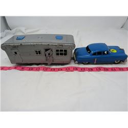 CAR AND TRAILER SET (HITCH REPLACED)