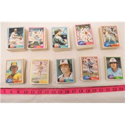 LOT OF BASEBALL CARDS (O-PEE-CHEE) *1981*