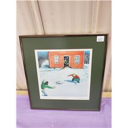 KURELEK FRAMED PICTURE PRINT