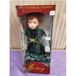 PORCELAIN DOLL - MINT IN BOX