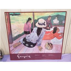 GAUGIN LARGE PRINT