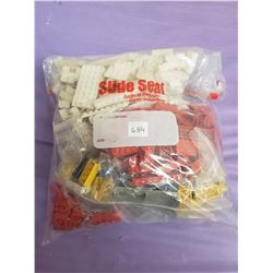 BAG OF VINTAGE LEGO PIECES