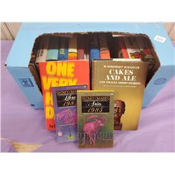 BOX OF HARDCOVER BOOKS