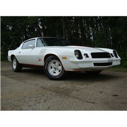 1:30PM SATURDAY FEATURE! 1978 CHEVROLET CAMARO Z28 4 SPEED 20,000 ACTUAL MILES