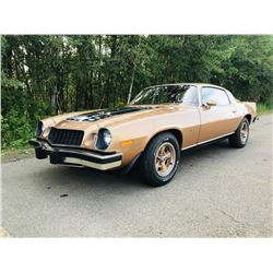 2:00PM SATURDAY FEATURE! 1975 CHEVROLET CAMARO 7500 DOCUMENTED MILES