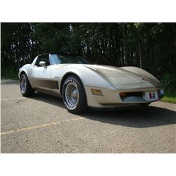 2:30PM SATURDAY FEATURE! 1982 CHEVROLET CORVETTE COLLECTORS EDITION DOCUMENTED BUILD SHEET