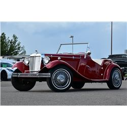 NO RESERVE! 1952 MG ROADSTER REPLICA