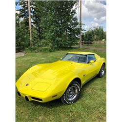 NO RESERVE! 1975 CHEVROLET CORVETTE SPORT COUPE