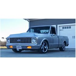 NO RESERVE! 1972 CHEVROLET C10 CUSTOM SHORTBOX