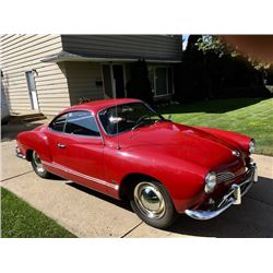 1964 VOLKSWAGEN KARMANN GHIA BEAUTIFULLY RESTORED