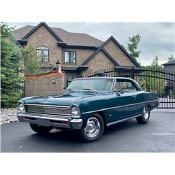 1966 CHEVROLET NOVA 383 TWO DOOR HARDTOP