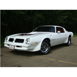 1976 PONTIAC TRANS AM 400 4 SPEED 34000 ACTUAL MILES