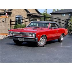 1967 CHEVROLET CHEVELLE SS 396 375HP 4 SPEED L78
