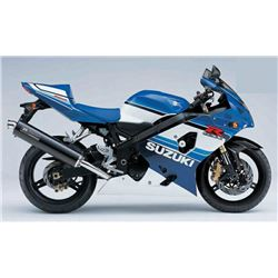 EXCLUSIVE MOTORCYCLE COLLECTION 2005 20TH ANNIVESARY GSXR750 #001 BIKE