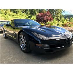 2002 CHEVROLET CORVETTE SUPERCHARGED CONVERTIBLE