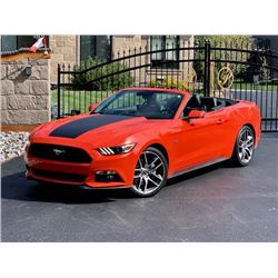 2015 FORD MUSTANG GT 5.0L CONVERTIBLE ONLY 38000KM