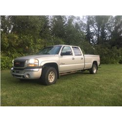 NO RESERVE! FRIDAY NIGHT 2004 GMC SIERRA 3500