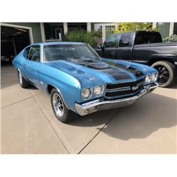FRIDAY NIGHT 1970 CHEVROLET CHEVELLE SS SUPERSPORT LS6 454 BIG BLOCK