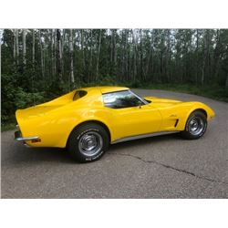 FRIDAY NIGHT 1973 CORVETTE L82 MATCHING NUMBERS L82