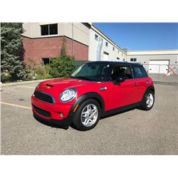 NO RESERVE! 2010 MINI COOPER S