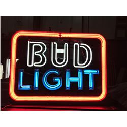 NO RESERVE 1980 BUD LIGHT NEON BEER SIGN