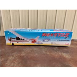 NO RESERVE REMOTE CONTROL AIRPLANE NEXSTAR ARF NEW IN THE BOX