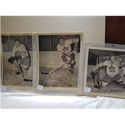 """MAPLE LEAFS PLAYERS (LATE 40'S) *10"""" X 8""""*"""