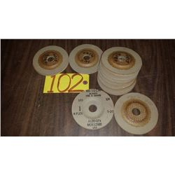 """Stainless buffing Disc 4""""1/2"""