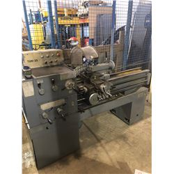 "FAMOT Lathe 14""x40"" with Taper Attatchement and Quick Change Tool Post"