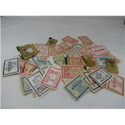 LOT OF ASSORTED NABOB COUPONS