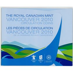 2010 VANCOUVER WINTER GAMES COINS