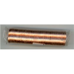 ROLL OF 1 CENT COINS (CANADA) *2012* (NON MAGNETIC)