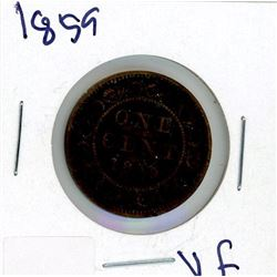 ONE CENT COIN (CANADA) *1859*
