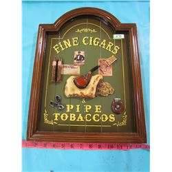 FINE CIGARS AND PIPE TOBACCO SIGN