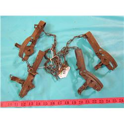 LOT OF 4 TRAPS