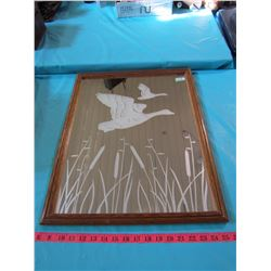 SET OF 3 DUCK MIRRORS