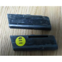LOT OF 2 KEYHOLE CLIPS FOR .22 SEMI AUTOMATIC (COOEY 64B)
