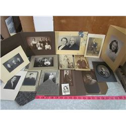 LOT OF VINTAGE PICTURES