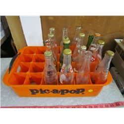 PIC-A-POP CASE WITH ASSORTED BOTTLES