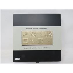 1- Vancouver 2010 Olympic Collector Sets in GOLD