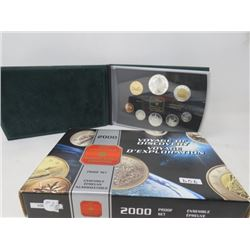 Double Dollar Proof Set (2000)