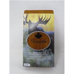 2004 Majestic Moose $5 Coin and Stamp Set.