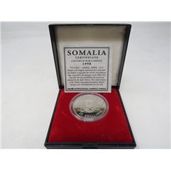 Somalia. Proof 1998 Titanic 25 Shillings.