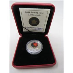 2004 Proof Lucky Loonie Sterling Silver