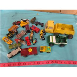ASSORTED CARS AND TRUCKS
