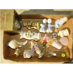 LOT OF 16 ASSORTED FIGURINES/ITEMS