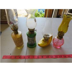 FOUR LAMPS-ASSORTED SIZES (PERFUME)