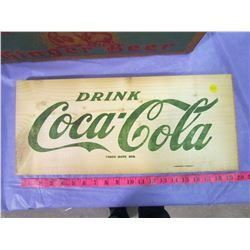 COKE CRATE BOARDS NO. 5 (SET OF 2)