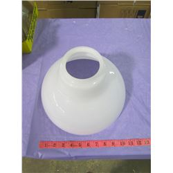 """ONE 12"""" MILK GLASS SHADE (4"""" TOP)"""