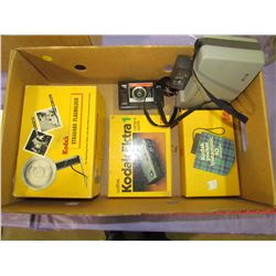 LOT OF KODAK CAMERAS AND ACCESSORIES